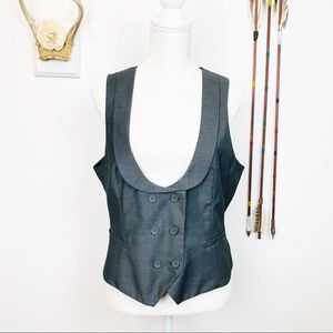 NY&Co Double Breasted Dressy Vest N
